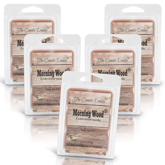 The Candle Daddy Other - 5 pack -Morning Wood - Cedarwood Vanilla Melts